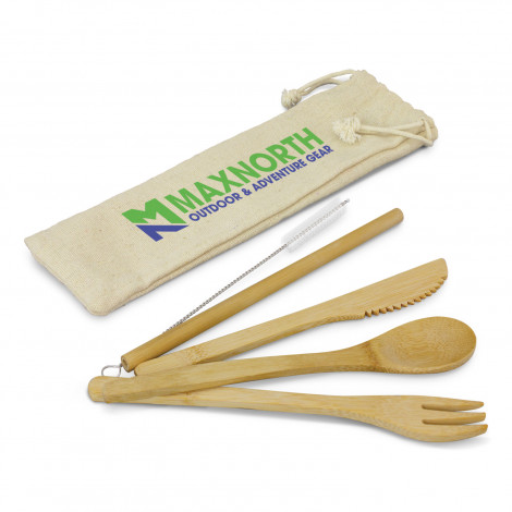 Picture of Bamboo Cutlery Set