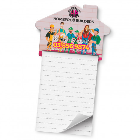 Picture of Magnetic House Memo Pad - A7