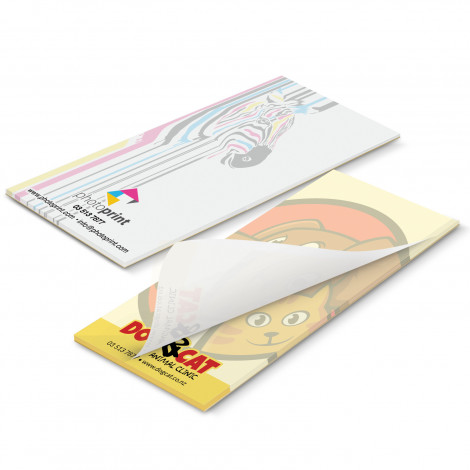 Picture of 90mm x 160mm Note Pad - Full Colour