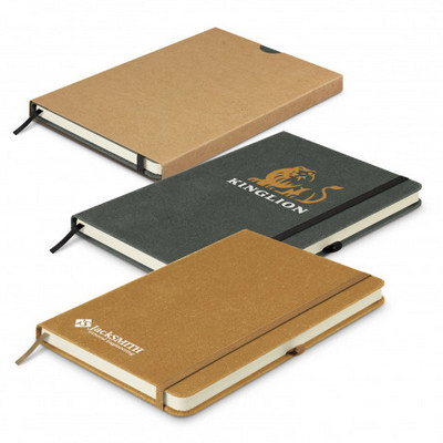 Picture of Phoenix Recycled Hard Cover Notebook