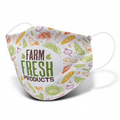 Picture of Reusable Face Mask Full Colour - Large