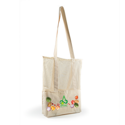 Picture of Scoot Calico  Mesh Tote Bag