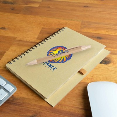 Picture of Savannah Notebook / Eco Matador Pen