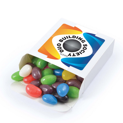 Picture of Assorted Colour Jelly Beans in 50 gram B