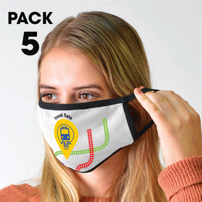 Picture of 5 Pack - Shield Face Masks