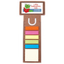 Business Card Bookmark / Ruler with Note