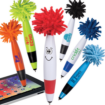 Picture of Mop Top Junior Ballpoint Pen / Stylus