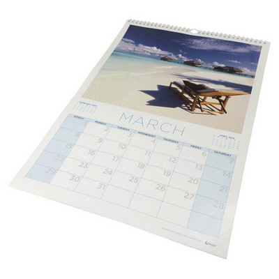 Picture of A3 wiro bound wall calendar