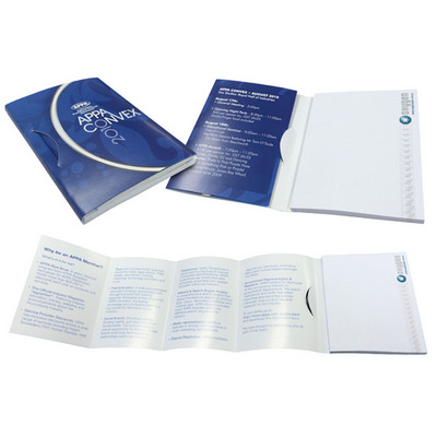 Picture of Pamphlet note 4c cover 4c 100 x75mm pad