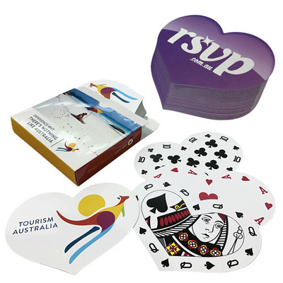 Picture of Playing cards digital Heart Shape