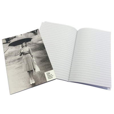 Picture of A5 50 leaf Books PUR 1c (black only) PU