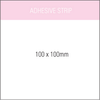 Picture of Stuk Note Pad 100x100White 2 Col 50 Leaf