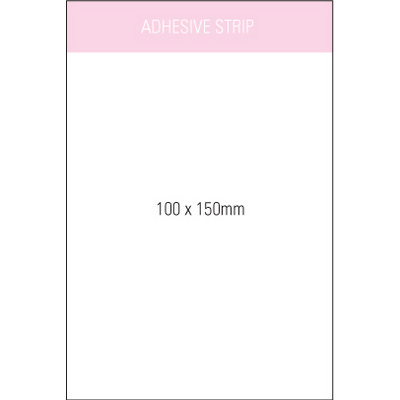 Picture of Stuk Note Pad 100x150 White 1col 50 Leaf