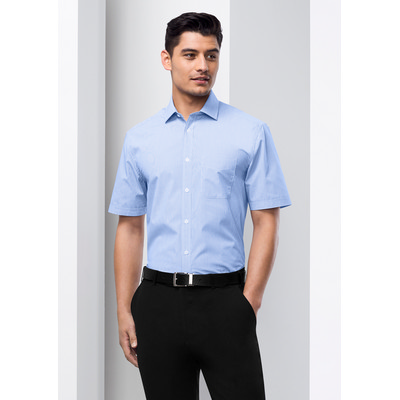 Picture of Mens Euro Short Sleeve Shirt