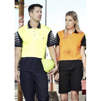 Picture of Mens Hi Vis Zone Polo