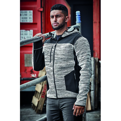 Picture of Unisex Streetworx Reinforced Knit Hoodie