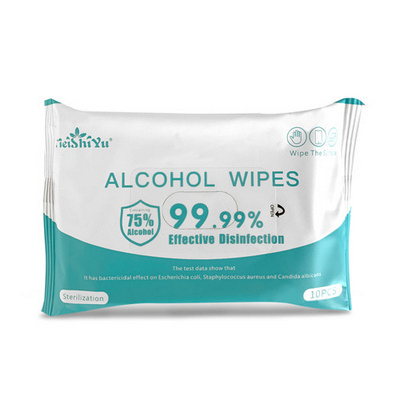 Picture of 10 Pack Alcohol Wipes