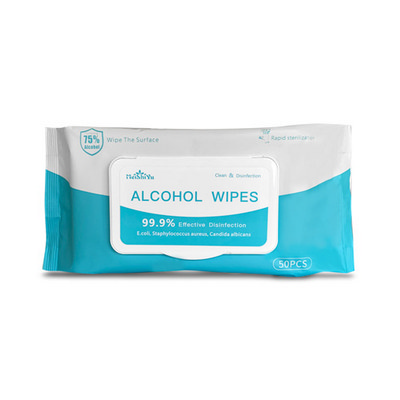 Picture of 50 Pack Alcohol Wipes