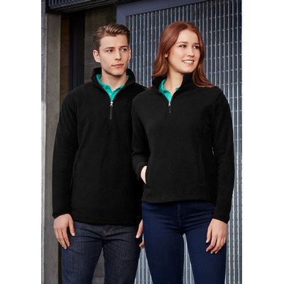 Picture of Mens Trinity 12 Zip Pullover