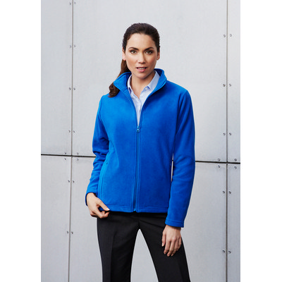 Picture of Ladies Plain Micro Fleece Jacket