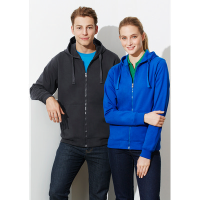 Picture of Mens Crew Zip Hoodie