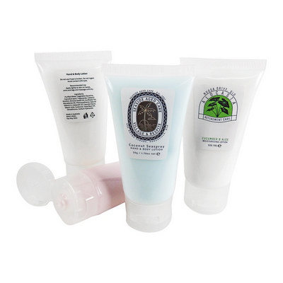 Picture of Lotion Tube Custom Label