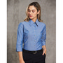 Ladies Chambray 34 Sleeve