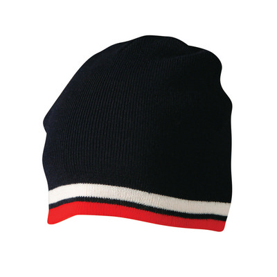 Picture of Contrast Stripe Beanie