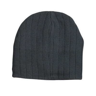 Picture of Cable Knit Beanie With Fleece Headband