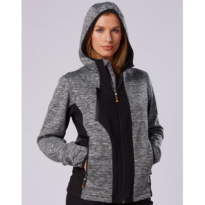 Picture of Unisex Laminated Functional Knit Hoodie.