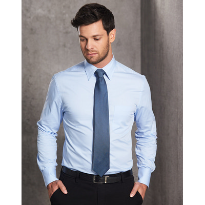 Picture of Mens Fine Twill Long Sleeve Shirt