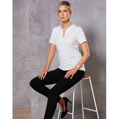 Picture of Ladies Short Sleeve Knit Top Sofia
