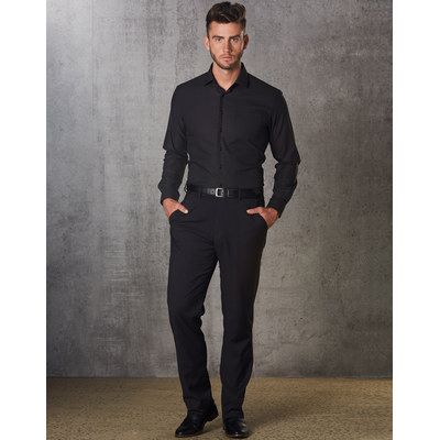 Picture of Mens Polyviscose Flexi Waist Stretch Pants