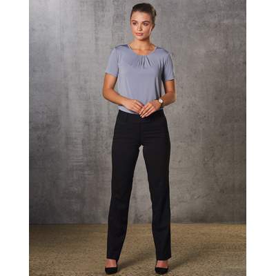 Picture of Women PolyViscose Stretch Low Rise Pants