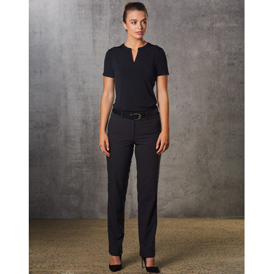 Picture of Women PolyViscose Stretch Flexi Waist Pants
