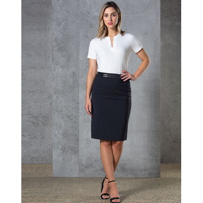 Picture of Ladies Twill Stretch Utility Skirt
