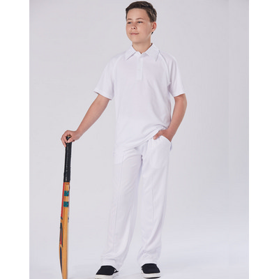 Picture of Kids SSleeve Cricket Polo