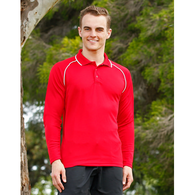 Picture of Mens Champion Plus LSleeve Polo