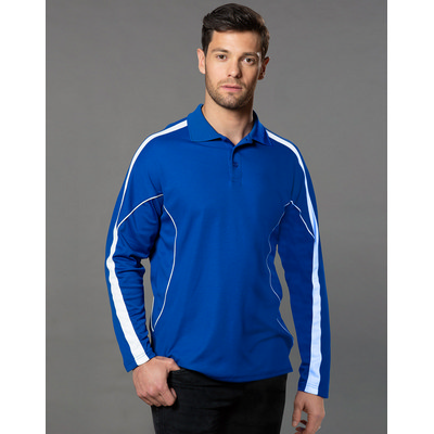 Picture of Mens Legend Plus LSleeve Polo