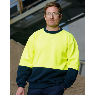 Picture of Hi-Vis 2 Tone Crew Neck