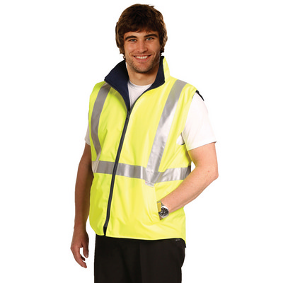 Picture of Hi-Vis Reversible Safety Vest With 3M Tapes