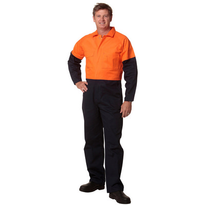 Picture of Mens Two Tone Coverall Stout Size