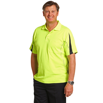 Picture of Hi-Vis Legend Short Sleeve Polo Mens