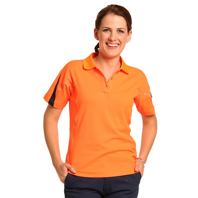 Picture of Hi-Vis Legend Short Sleeve Polo Ladies