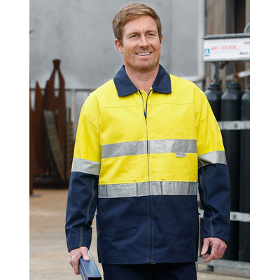 Picture of Hi-Vis Cotton Jacket With 3M Tapes