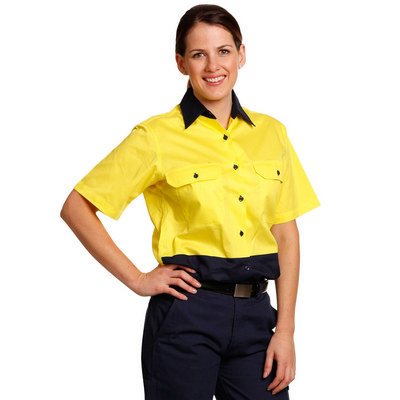Picture of Women Short Sleeve Safety Shirt