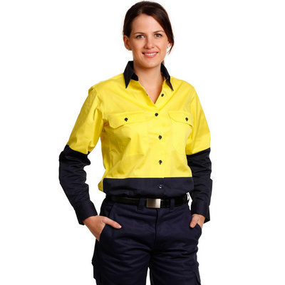 Picture of Women Long Sleeve Safety Shirt