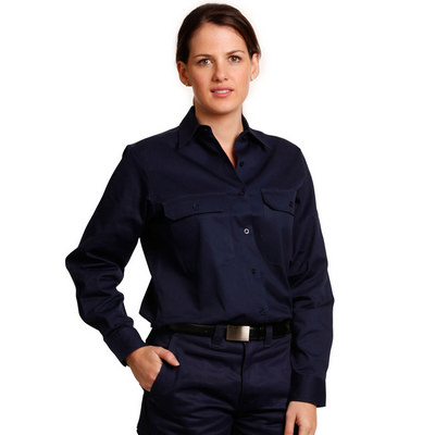 Picture of Women Cotton Drill Work Shirt