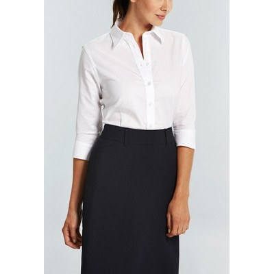 Picture of WOMENS OXFORD 34 SLEEVE SHIRT