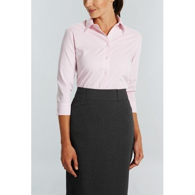Picture of WOMENS SQUARE TEXTURED 34 SLEEVE SHIRT